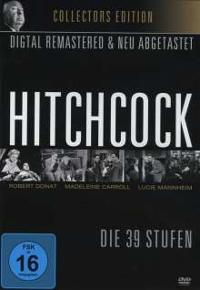 Alfred Hitchcock: Die 39 Stufen, DVD