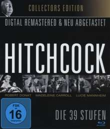 Alfred Hitchcock: Die 39 Stufen (Blu-ray), Blu-ray Disc