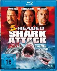 3-Headed Shark Attack (Blu-ray), Blu-ray Disc