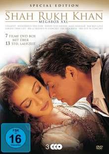 Shah Rukh Khan - Megabox XXL (7 Filme auf 3 DVDs), 7 DVDs