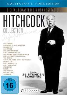 Hitchcock Collection (20 Filme auf 7 DVDs), 7 DVDs
