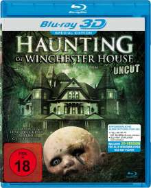 Haunting of Winchester House (3D Blu-ray), Blu-ray Disc