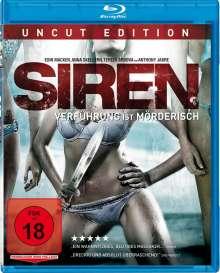 Siren (Blu-ray), Blu-ray Disc