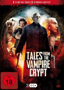 Tales from the Vampire Crypt (9 Filme auf 3 DVDs), 3 DVDs