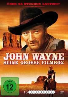 John Wayne - Seine große Filmbox, 15 DVDs