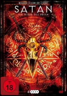 Satan - Die Wiege des Bösen (8 Filme auf 4 DVDs), 4 DVDs