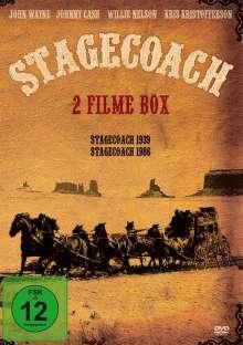 Stagecoach (1939) & Stagecoach (1986), DVD
