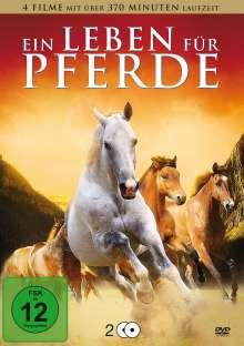 Ein Leben für Pferde (4 Filme auf 2 DVDs), 2 DVDs