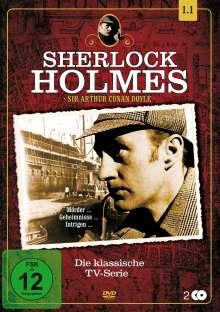 Sherlock Holmes - Die klassische TV-Serie Staffel 1 Box 1, 2 DVDs