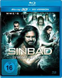 Sindbad and the War of the Furies (3D Blu-ray), Blu-ray Disc