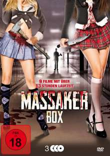 Massaker Box (9 Filme auf 3 DVDs), 3 DVDs