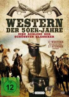 Western der 50er Jahre (12 Filme auf 6 DVDs), 6 DVDs