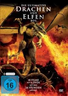 Die ultimative Drachen und Elfen Deluxe-Box (18 Filme auf 6 DVDs), 6 DVDs