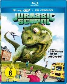 Jurassic School (3D Blu-ray), Blu-ray Disc