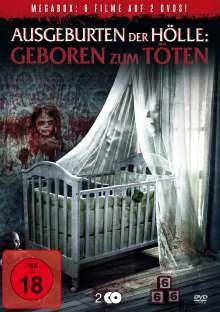 Ausgeburten der Hölle - Geboren zum Töten (6 Filme auf 2 DVDs), 2 DVDs
