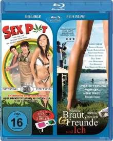Sex Pot 3D / Meine Braut, meine besten Freunde und ich (Blu-ray), Blu-ray Disc