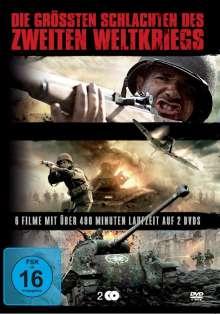 Die grössten Schlachten des Zweiten Weltkriegs, 2 DVDs