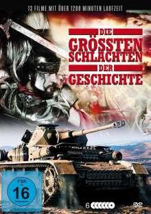 Die grössten Schlachten der Geschichte (13 Filme auf 6 DVDs), 6 DVDs