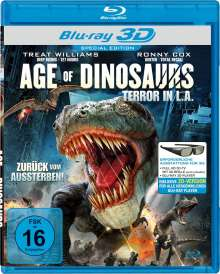Age of Dinosaurs - Terror in L.A. (3D Blu-ray), Blu-ray Disc