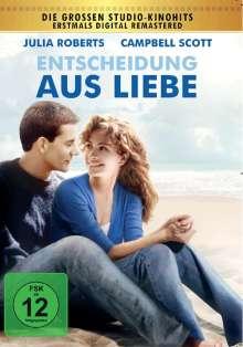 Entscheidung aus Liebe, DVD