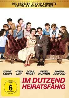 Im Dutzend heiratsfähig, DVD