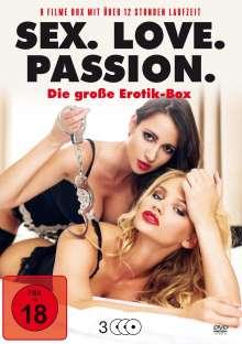 Sex. Love. Passion. (9 Filme auf 3 DVDs), 3 DVDs