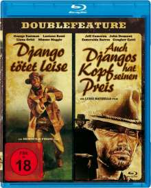 Django tötet leise / Auch Djangos Kopf hat seinen Preis (Blu-ray), Blu-ray Disc