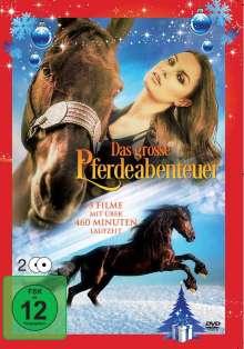 Das große Pferdeabenteuer (5 Filme auf 2 DVDs), 2 DVDs