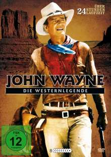 John Wayne - Die Westernlegende (21 Filme auf 8 DVDs in Metalbox), 8 DVDs