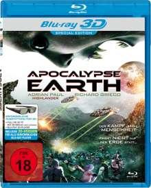 Apocalypse Earth (3D Blu-ray), Blu-ray Disc