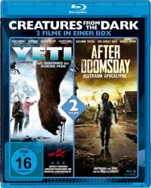 Creatures from the Dark: Yeti / After Doomsday (Blu-ray), Blu-ray Disc