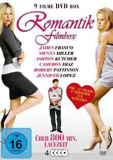 Romantik Film Box (9 Filme auf 4 DVDs), 4 DVDs