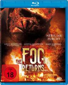 The Fog Returns - Nebel der Furcht (Blu-ray), Blu-ray Disc