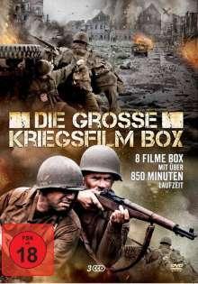 Die grosse Kriegsfilm Box (8 Filme auf 3 DVDs), 3 DVDs