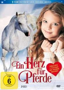 Ein Herz für Pferde (9 Filme auf 3 DVDs), 3 DVDs