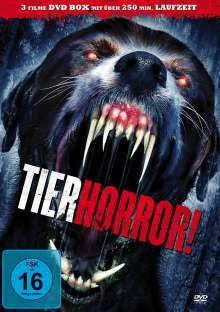 Tierhorror! (3 Filme), DVD