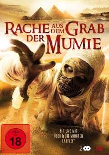 Rache aus dem Grab der Mumie (6 Filme-Box), 2 DVDs