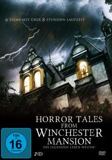 Horror Tales from Winchester Mansion (6 Filme auf 2 DVDs), 2 DVDs