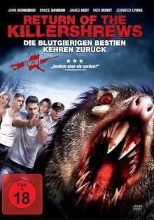 Return of the Killershrews, DVD