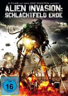 Alien Invasion: Schlachtfeld Erde (3 Filme), DVD