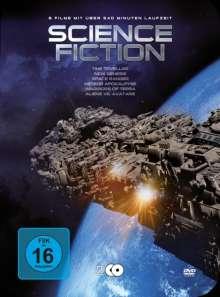 Science Fiction (6 Filme auf 2 DVDs in Metallbox), 2 DVDs
