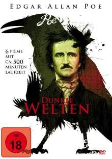 Edgar Allan Poe - Dunkle Welten (6 Filme auf 2 DVDs), 2 DVDs