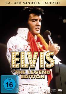 Elvis - The Legend Edition, 2 DVDs