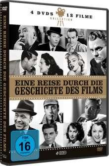 Eine Reise durch die Geschichte des Films (12 Filme auf 4 DVDs), 4 DVDs