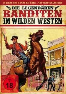 Die legendären Banditen im Wilden Westen (18 Filme auf 6 DVDs), 6 DVDs