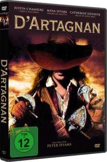 D'Artagnan (2001), DVD