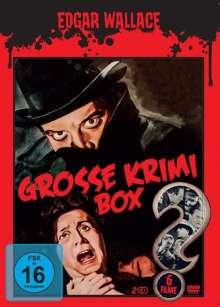 Edgar Wallace - Grosse Krimi Box (6 Filme auf 2 DVDs), 2 DVDs
