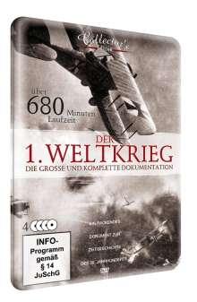 Der 1.Weltkrieg - Die komplette Geschichte (Metallbox), 4 DVDs