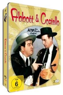 Best of Abbott & Costello (Deluxe Metallbox), 2 DVDs