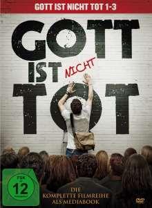 Gott ist nicht tot 1-3 (Mediabook), 3 DVDs